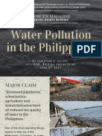 GALOPE_WaterPollutioninthePhilippines