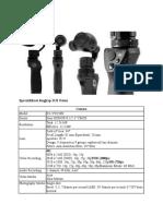 Specisifikasi lengkap DJI Osmo.docx