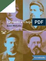 Leyendo a Chejov - Janet Malcolm.pdf