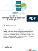 Cisco 300-115 VCE Test Questions Answers