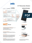 Understanding the datasheet of PV module