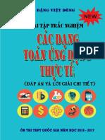 [Toanmath.com] - Bài Tập Trắc Nghiệm Các Dạng Toán Ứng Dụng Thực Tế - Đặng Việt Đông