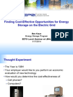 EPRI Finding Cost-Effective Opportunities for Energy Storage