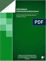 Format & Cover Pedoman Pengorganisasian