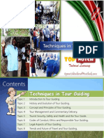 Techniques in Tour Guiding 2017 by Paul Olola