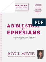 A Bible Study of Ephesians