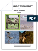 The conservation challenges and opportunities of protected area management in Ethiopia