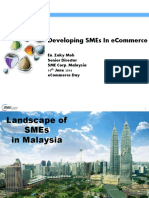 3. Developing SMEs in E-Commerce
