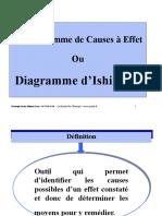 Diagramme Ishikawa