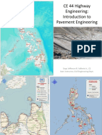1.0 Introduction to Pavement Engineering CE 44 Highway Engineering (Philippines)