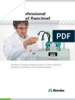 Aparat Pt Biodiesel METROHM