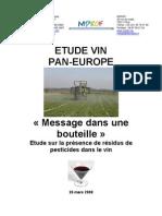 Rapport Vin Pesticide Fr