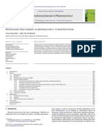 Multivariate data analysis in pharmaceutics-A tutorial review.pdf