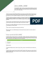 Cómo Crear Archivos KML y KMZ