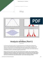 Analysis Window (Part I) – EducaSound - Copy