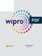 Wipro Annual Report for FY 2016 17 Interactive