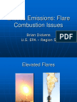 flare emmessions