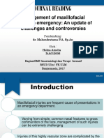 Management of maxillofacial trauma in emergency An update of challenges and controversies.pptx