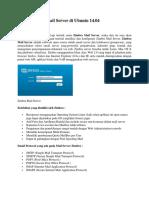 Install Zimbra Mail Server Di Ubuntu