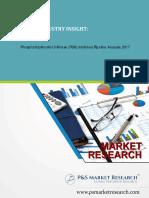 Phosphatidylinositol 3-Kinase (PI3K) Inhibitors Pipeline Analysis, 2017 by P&S Market Research