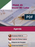 PSAK 45 Organisasi Nir Laba 20012013