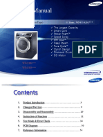 Adimasina de Spalat ManualTraining Samsung WF5000 6000HA