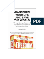 Transform Your Life And Save The World