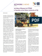 Gender Equality at the Water Authority of Fiji - Asian Development Bank Case Study