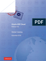 R11 ERP Cloud Global Catalog