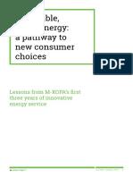 Affordable Energy Lightbulb Series 1