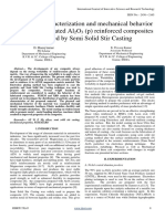 Synthesis, Characterization and Mechanical Behavior of AZ91ENi Coated Al2O3 (p) Reinforced Composites Fabricated by Semi Solid Stir Casting