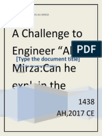 CAN ENGINEER ALI MIRZA EXPLAIN VERSE 142 AAL IMRAN ? :A CHALLANGE TO ALI MIRZA