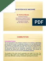 Commutation in DC Machines