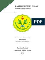 Cover Modul Praktikum Fisika Dasar