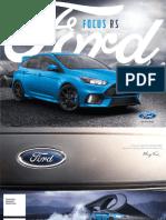 Brosura Ford Focus RS