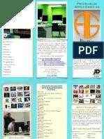 Brochure -> Grado Asociado en Artes Gráficas / Diseño Gráfico@John Dewey