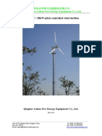 AH-20kW 30kW Pitch Controlled Wind Turbine 2014(1)