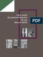 100 años de proteccion de Bellas Artes.pdf
