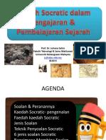 Kaedah Socratic Dalam Pengajaran Dan Pembelajaran Sejarah