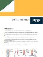 ATRIAL SEPTAL DEFECT (ASD) PPT