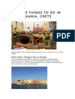 15 Things to Do in Chania