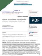 Evolución de La Psicoterapia en La Esquizofrenia