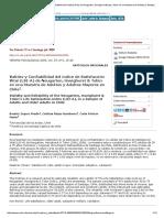 Validez y Confiabilidad Del Índice de Satisfacción Vital (LSI-A) de Neugarten, Havighurst &Amp; Tobin en Una Muestra de Adultos y Adultos Mayores en Chile