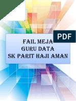 Partition Fail Meja Guru Data