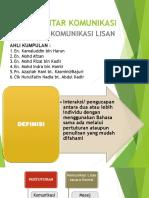 Pengantar Komunikasi (Presentation 4