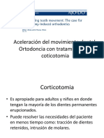 Aceleracion del movimiento dental