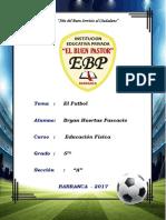Monografia El FutbolL FUTBOL Bryan