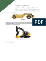 Alat Berat Yang Digunakan Pada Proyek Pelabuhan