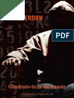 John Verdon - Gândește-te La Un Număr