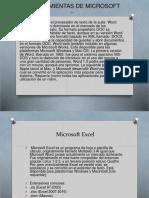 Las Herramientas de Microsoft